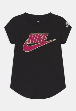 Nike Sportswear - GLOW IN THE DARK FUTURA - T-shirt med print - black