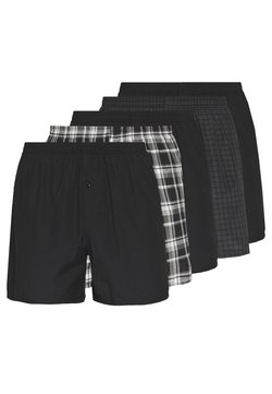 Pier One - 5 PACK - Boxershorts - black