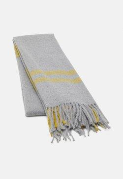 Anna Field - Scarf - grey/yellow