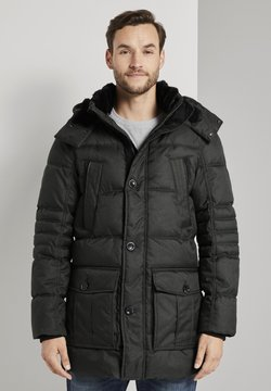 TOM TAILOR - PUFFER - Wintermantel - olive structure