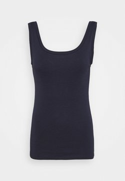 Marks & Spencer London - SCOOP VEST - Débardeur - dark blue