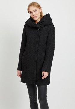 Vila - Pitkä takki - black