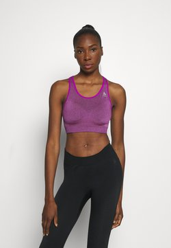 ODLO - SPORTS BRA SEAMLESS MEDIUM CERAMICOOL - Sujetador deportivo - purple cactus