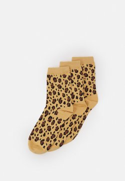 Monki - POLLY SOCK 3 PACK - Socken - beige medium dusty