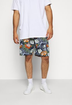 Jack´s Sportswear - FLORAL CHAMBRAY  - Shorts - blau