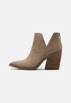 Steve Madden - ALYSE - High heeled ankle boots - tan
