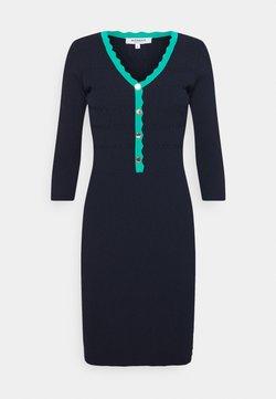 Morgan - Vestido de punto - marine/menthe