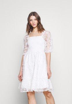 YAS - YASBRIANNA SHORT DRESS  - Freizeitkleid - star white