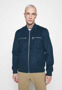 Redefined Rebel - RRRAFAEL JACKET - Giacca in similpelle - dark navy
