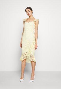 Nly by Nelly - TRUE LOVE DRESS - Cocktailkleid/festliches Kleid - light yellow