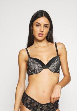 Calvin Klein Underwear - Biustonosz z fiszbiną - black