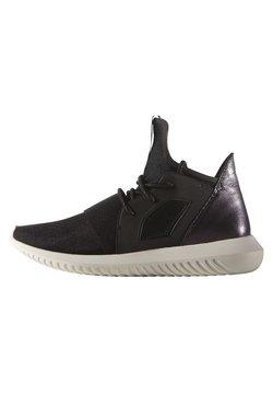 adidas Originals - TUBULAR DEFIANT  - Matalavartiset tennarit - core black/core white