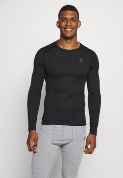 ODLO - ACTIVE WARM ECO TOP CREW NECK - Camiseta de deporte - black
