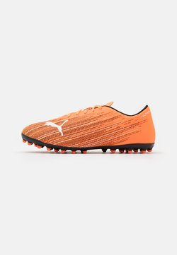 Puma - ULTRA 4.1 MG - Moulded stud football boots - shocking orange/black