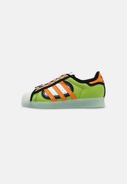 adidas Originals - SUPERSTAR SIMPSONS SQUISHEE UNISEX - Sneakers - semi solar green/bright orange/sky tint