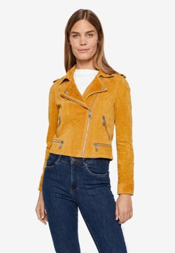 Vero Moda - VMROYCE - Leather jacket - amber gold