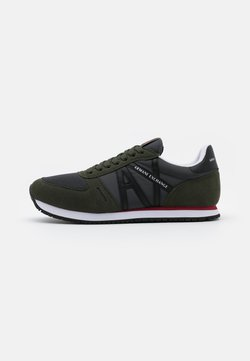 Armani Exchange - RIO - Sneaker low - olive/black