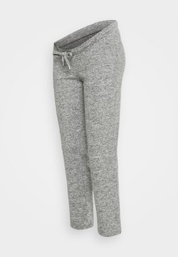 MAMALICIOUS - MLNEWJANNI LOUNGE PANTS - Jogginghose - light grey melange