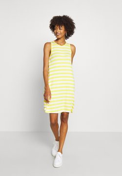 GAP - SWING DRESS - Jerseykleid - yellow