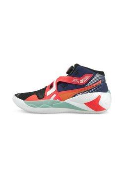 Puma - DISC REBIRTH - Chaussures de basket - elektro blue/fiery coral