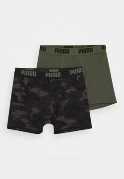 Puma - KIDS CAMO BOXER 2 PACK - Shorty - army green
