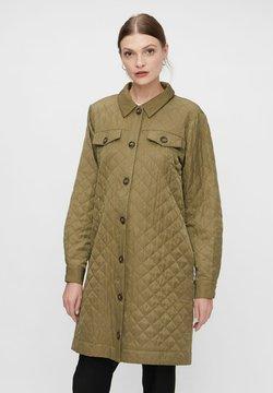 YAS - YASSCHEANA - Vestido camisero - capulet olive