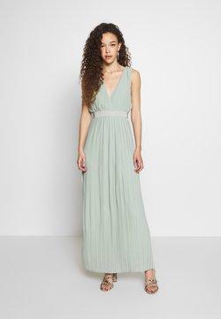 YAS Petite - YASTIANA DRESS - Ballkjole - frosty green