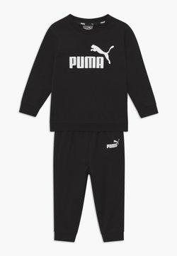 Puma - MINICATSS CREW JOGGER SET - Träningsset - black