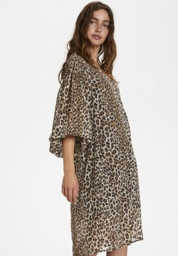 Soaked in Luxury - SLETERI  - Freizeitkleid - beige leopard