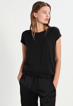 Vero Moda - VMAVA PLAIN - T-shirt basic - black