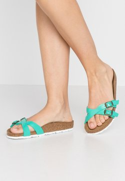 Birkenstock - ALMERE - Chaussons - graceful emerald