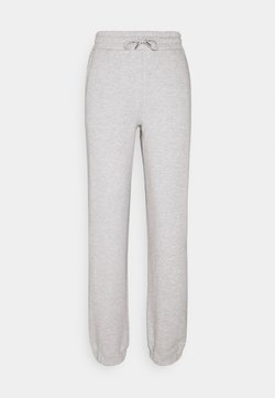 Selected Femme - SLFALANA PANTS - Jogginghose - medium grey melange
