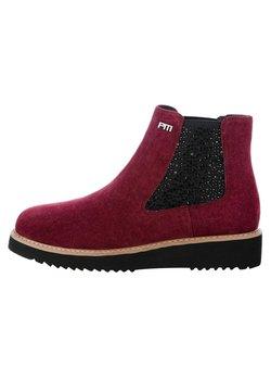 PRIMA MODA - FAEDO - Classic ankle boots - red