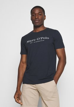 Marc O'Polo - SHORT SLEEVE ROUND NECK - T-Shirt print - total eclipse