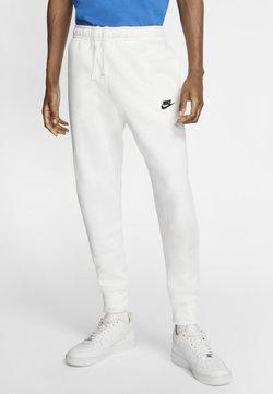 Nike Sportswear - CLUB - Jogginghose - white/white/black