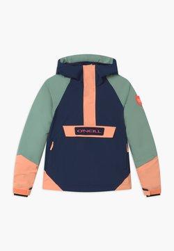 O'Neill - ANORAK - Snowboardjacke - blue/mint/apricot