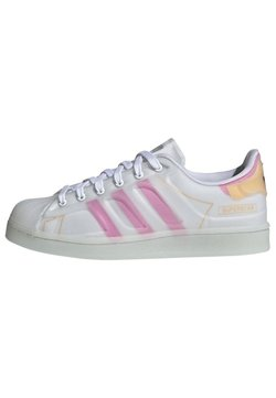 adidas Originals - SUPERSTAR FUTURESHELL  - Sneakers - ftwr white screaming pink crew yellow