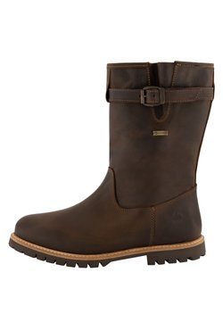 Travelin - ISLAND - Stiefel - dark brown