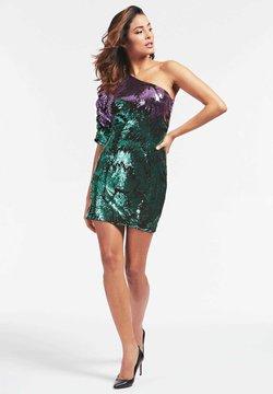 Guess - FLORENCE DRESS - Cocktailkleid/festliches Kleid - groen multi