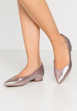 Tamaris - Klassischer  Ballerina - rose metallic