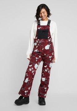 Rojo - SNOW DAY BIB - Snow pants - red