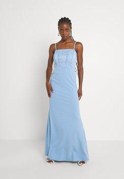 WAL G. - POPPY DRESS - Robe de cocktail - cornflour blue