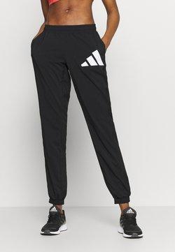 adidas Performance - BOS PANT - Jogginghose - black/white