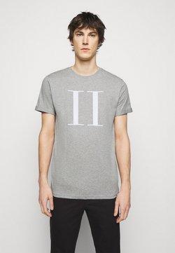Les Deux - ENCORE  - T-shirts med print - grey melange