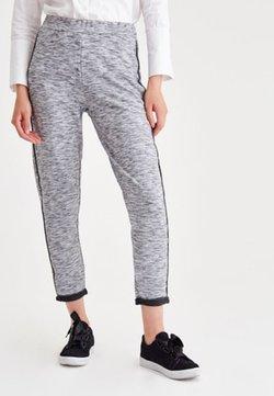 OXXO - MIT SEITLICHEN STREIFEN - Jogginghose - light grey
