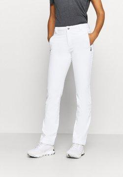 Luhta - EROTTAJA - Pantalones montañeros largos - white