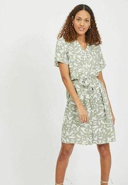 Vila - Shirt dress - seagrass