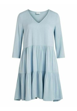 Vila - Day dress - light blue denim