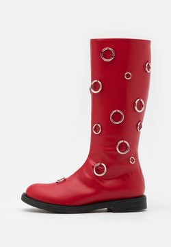 Marni - Stiefel - red