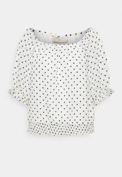 Freequent - LEVA - T-Shirt print - offwhite/black